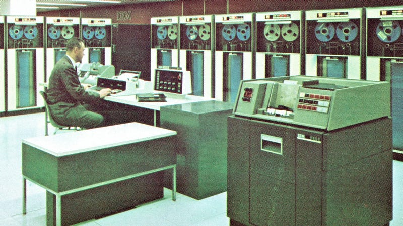 IBM computers in 1962