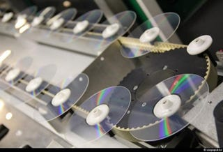 Illustration for article titled The Beautiful Process of Making DVDs