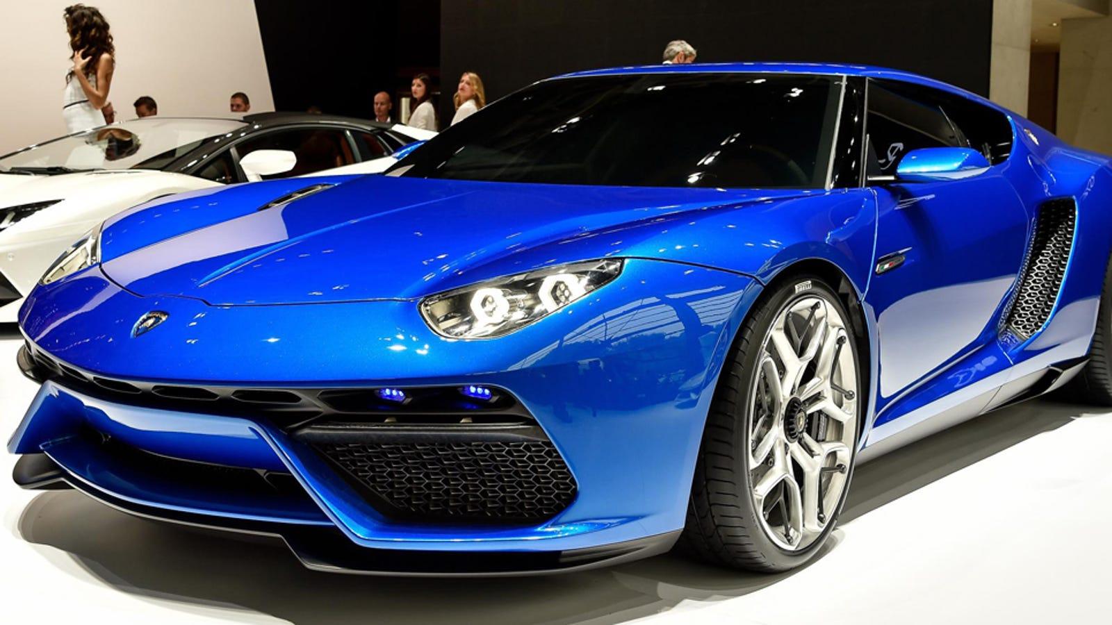 The Asterion Moves Lamborghini Into A Beautiful High Tech Future