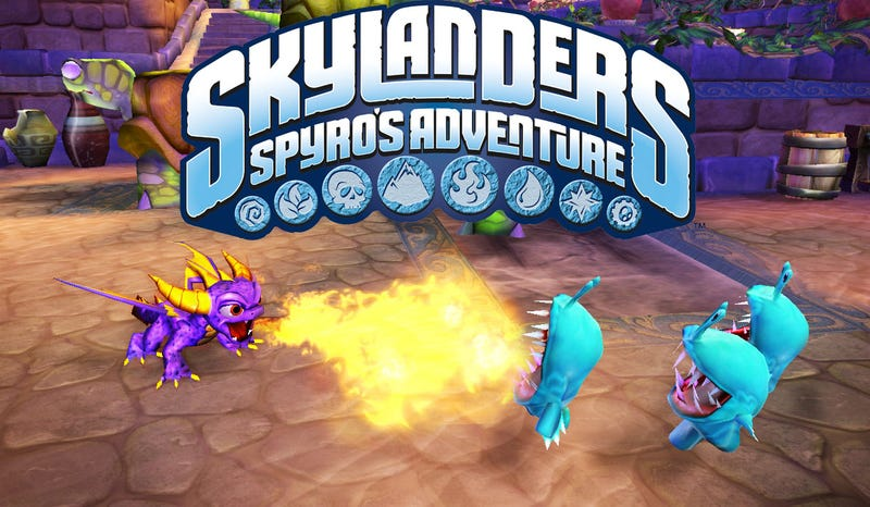 Illustration for article titled Skylanders Spyro's Adventure Brings Toys And Video Games Together