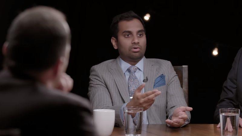 Aziz Ansari (Screenshot: YouTube)