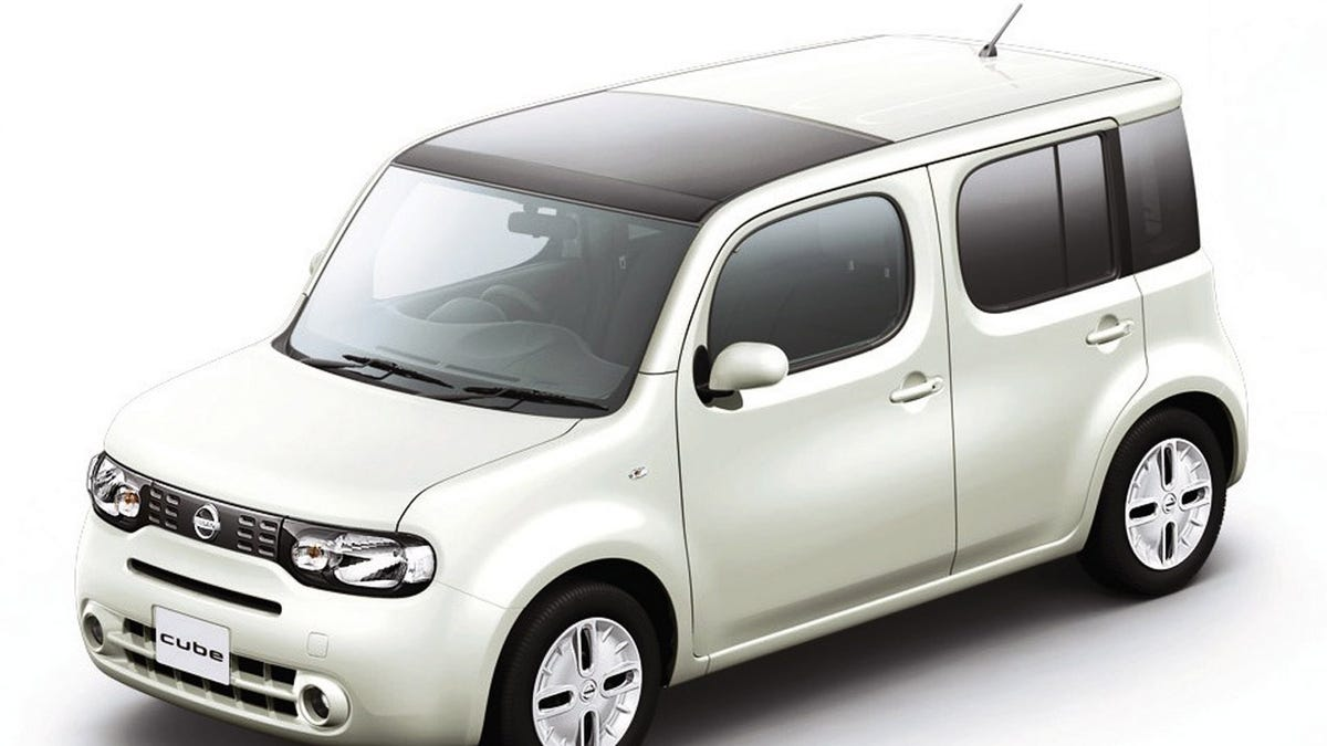 Nissan 2010 nissan cube : 2010 Nissan Cube Unveiled Early