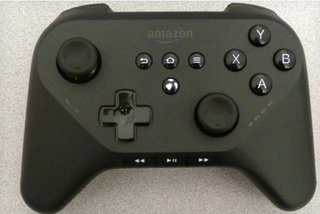 Illustration for article titled Leaked Images Show What Could Be Amazon's Video Game Controller