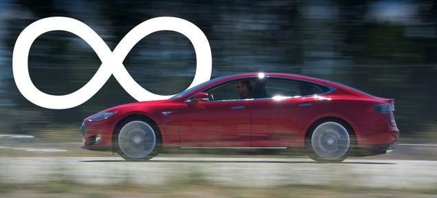 Tesla Now Offers Infinite-Mile Warranty