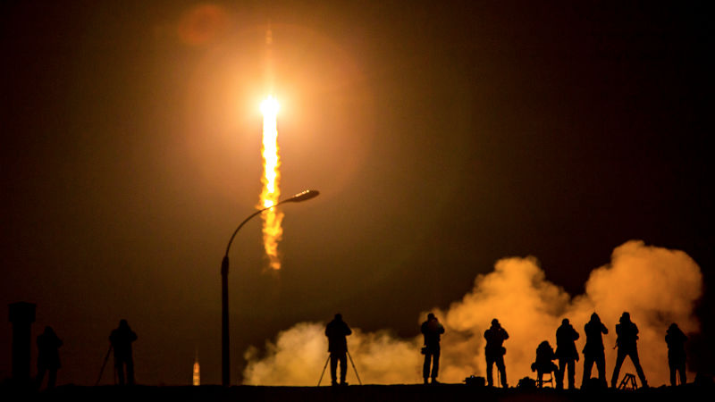 Illustration for article titled Watch 83 Rocket Launches That Happened in 2015 in a Single Video