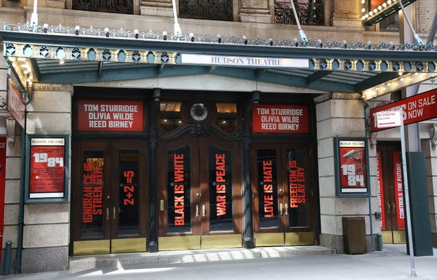 Broadway Production Of1984Is Causing Audience Members to Faint, Vomit And Get in Fights
