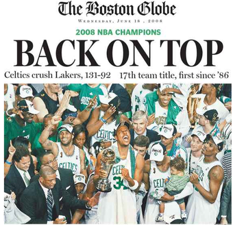 Illustration for article titled With The 58th Pick, The Boston Celtics Might Select The Globe