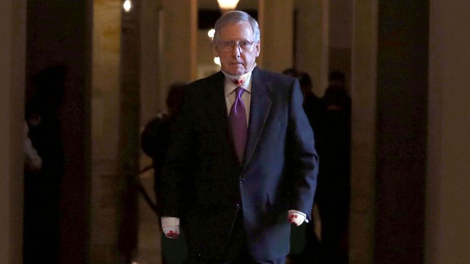Mitch McConnell Has Hands, Vocal Cords Removed To Prevent ...