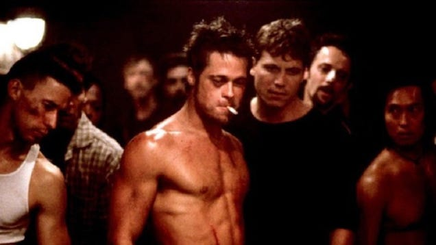 Student games academia with powerful, one-line essay on Fight Club
