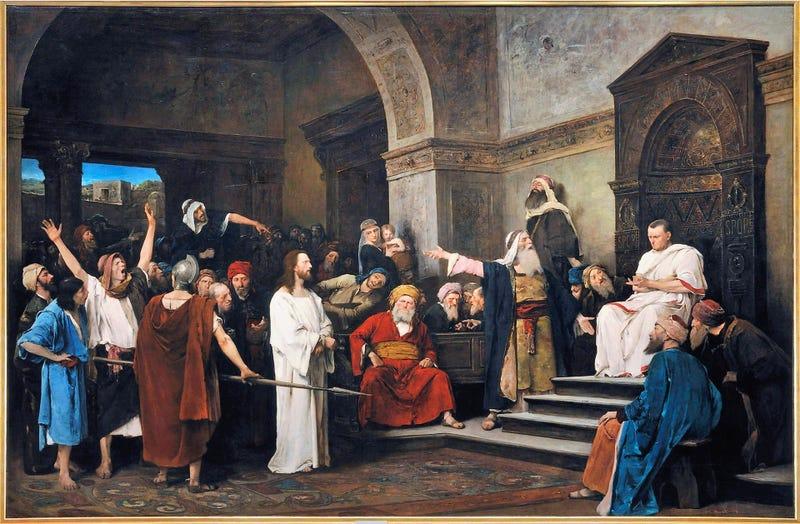 Illustration for article titled Descubren un anillo que perteneció a Poncio Pilato, el hombre que ordenó la crucifixión de Jesús