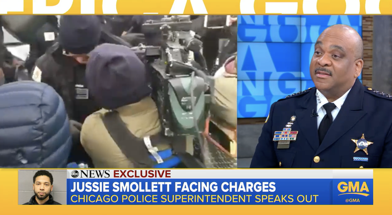 Illustration for article titled Chicago Police Superintendent Says There Is 'A Lot' More Evidence in Jussie Smollett Case We Haven't Yet Seen