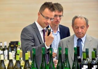 Illustration for article titled Szijjártó Péter ezekkel a magyar borokkal fogja leitatni a világot