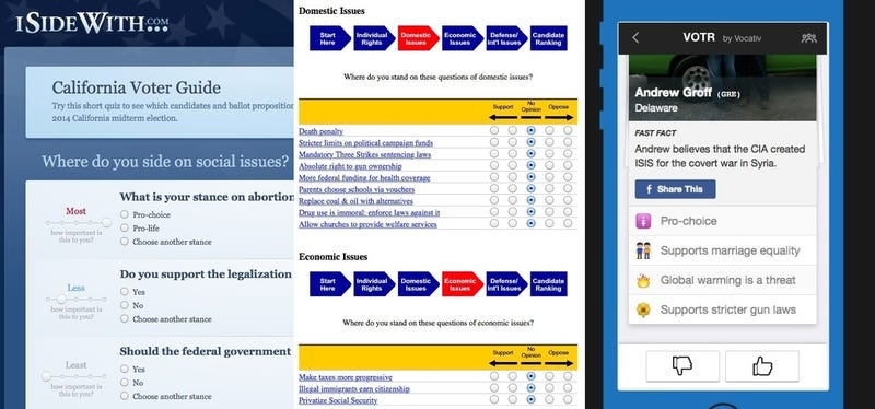 Illustration for article titled A Voting App Thinks I'm a Libertarian. I'm Not.
