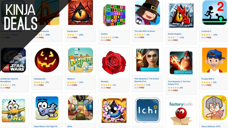 Illustration for article titled Download Over $70 Worth of Android Apps For Free, Courtesy of Amazon