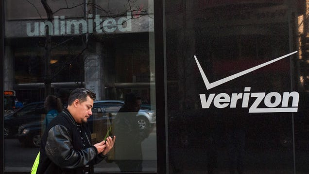 Verizon Says It Was Totally Just Testing How to Throttle Video