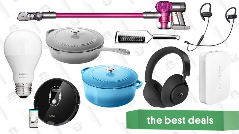 Illustration for article titled Thursday's Best Deals: Dolby Headphones, ThermoPop, Dyson V6, and More