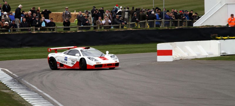 Illustration for article titled At This Angle In A McLaren F1 GTR, You've Officially Lost It