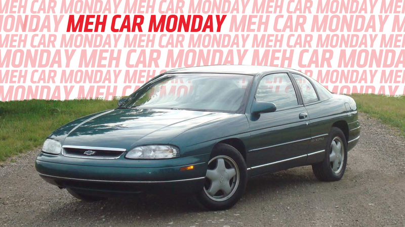 Meh Car Monday The 1994 1999 Chevy Monte Carlo Was The One To Ignore
