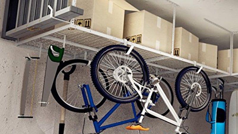 Fleximounts 4'x8' Garage Storage Rack | $148 | Amazon | Promo code XMASHOME