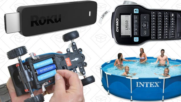 Today's Best Deals: $10 off Uber, Eneloop Power Pack, Roku Streaming Stick, and More