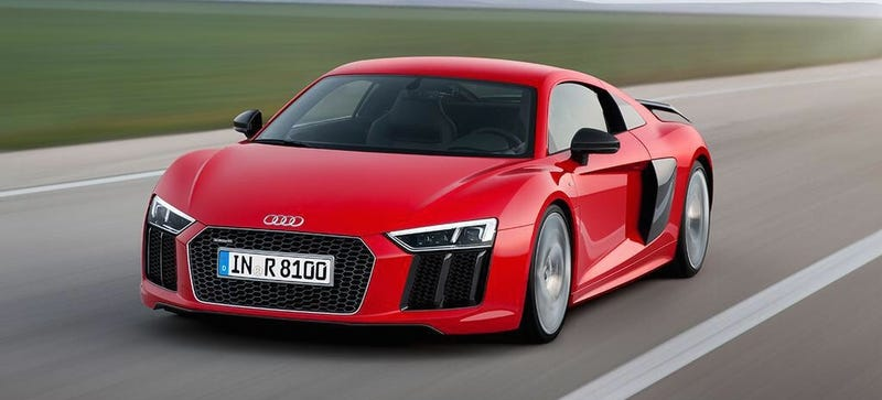 Illustration for article titled 2016 Audi R8: This ReallyLooks Like It