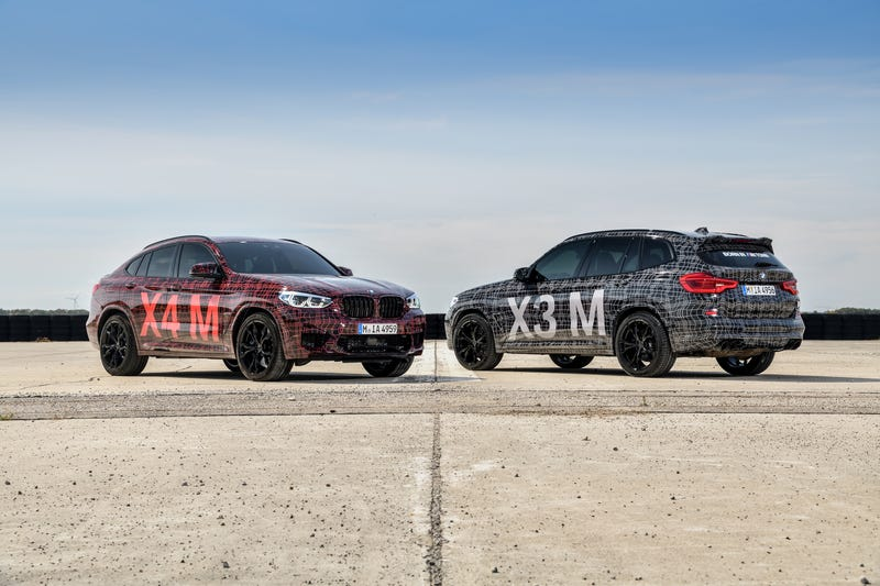 Illustration for article titled BMW Introduces New X3 M and X4 M AtNürburgring DTM Weekend