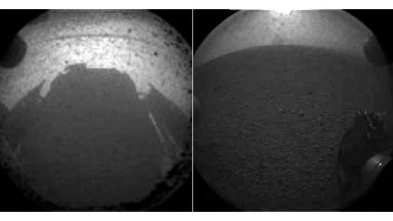 Illustration for article titled First Photos of Mars from Curiosity