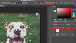 Make Photoshop Edits in Empty Layers Instead of Existing Ones