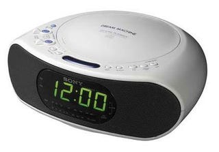 Illustration for article titled Sony Clock Radio has Integrated Spy Cam