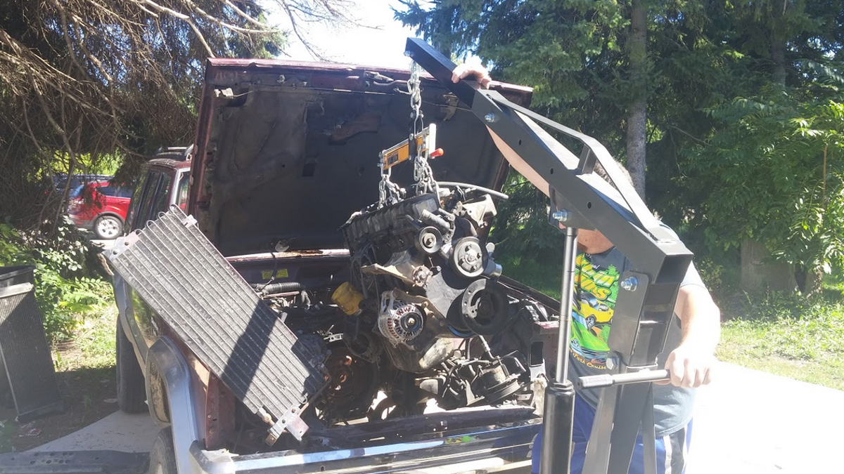 Here's What Happened When I Put A $120 Craigslist Engine