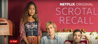 Illustration for article titled PSA: Netflix Has a Show About Diseased Dicks Called Scrotal Recall
