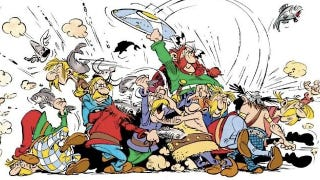 Illustration for article titled Neurosurgeons analyze incidents of brain trauma in Asterix comics