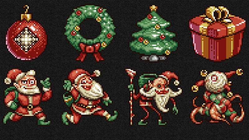 Illustration for article titled Drop Everything: Cookie Clicker Just Got A Christmas Update.