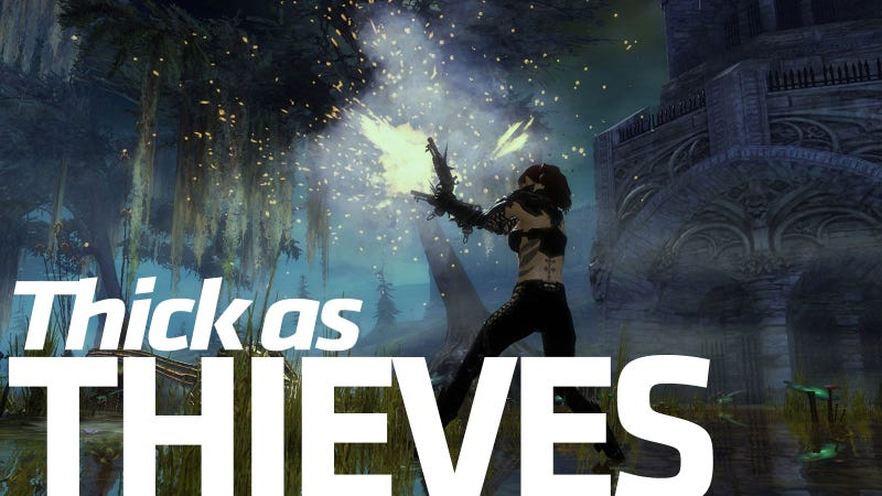 Illustration for article titled The Guild Wars 2 Thief Is A Rogue Like None Other