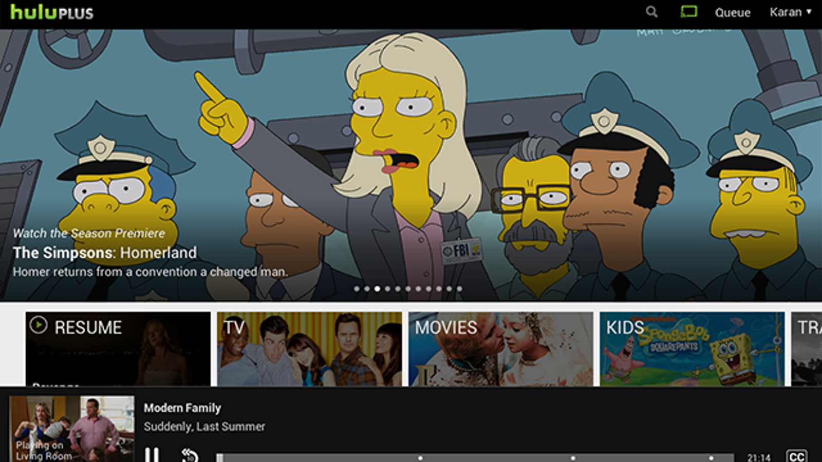 Hulu Plus Adds Support for Chromecast on Android and iOS