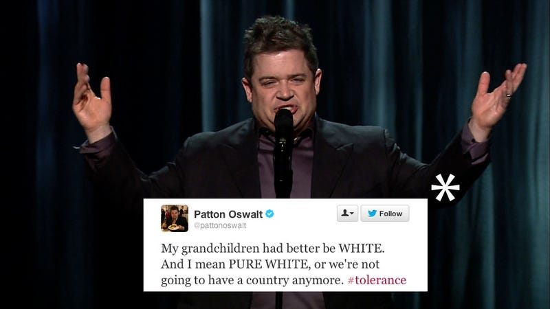 Illustration for article titled Patton Oswalt Trolls The World, Wins Twitter