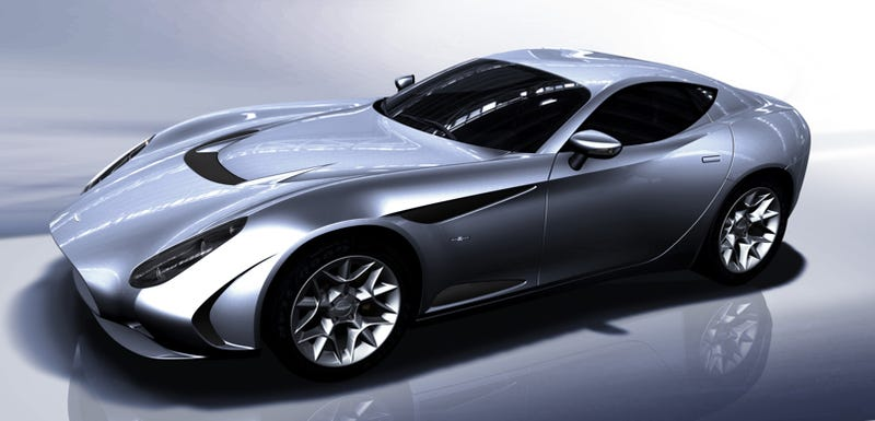 Illustration for article titled Perana Z-One: South African-Built, Zagato-Bodied And Corvette-Powered