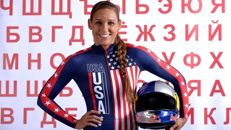 Illustration for article titled Lolo Jones Becomes First American To Be Objectified In Both Winter And Summer Events