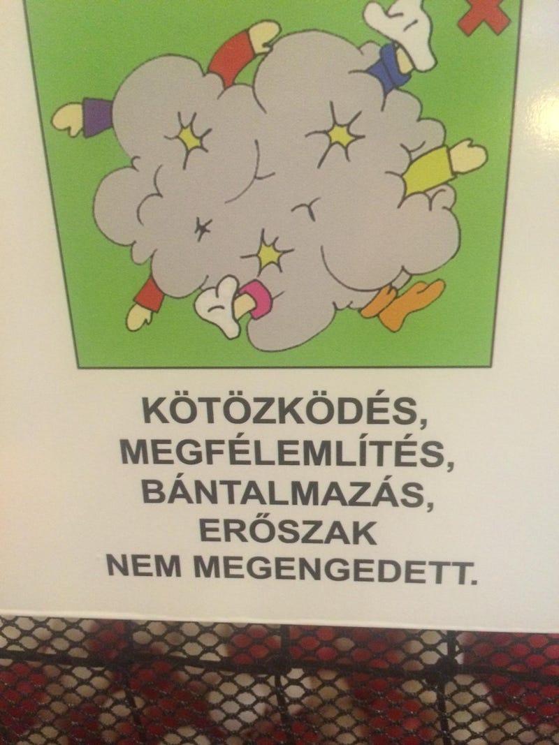 Illustration for article titled Jó, hogy nem játszókocsmát nyitottak gyerekeknek