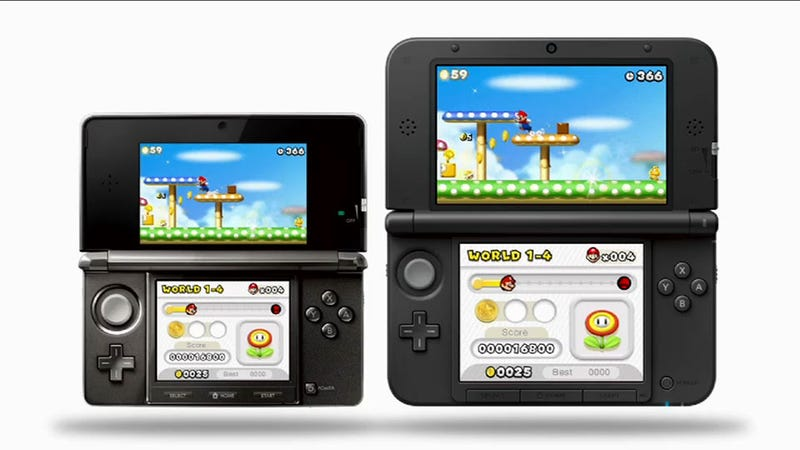 Illustration for article titled Nintendo Announces a New, Bigger 3DS. Meet the 3DS XL.