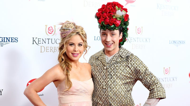 Illustration for article titled Benevolent god gives us Tara Lipinski and Johnny Weir-hosted Food Network show