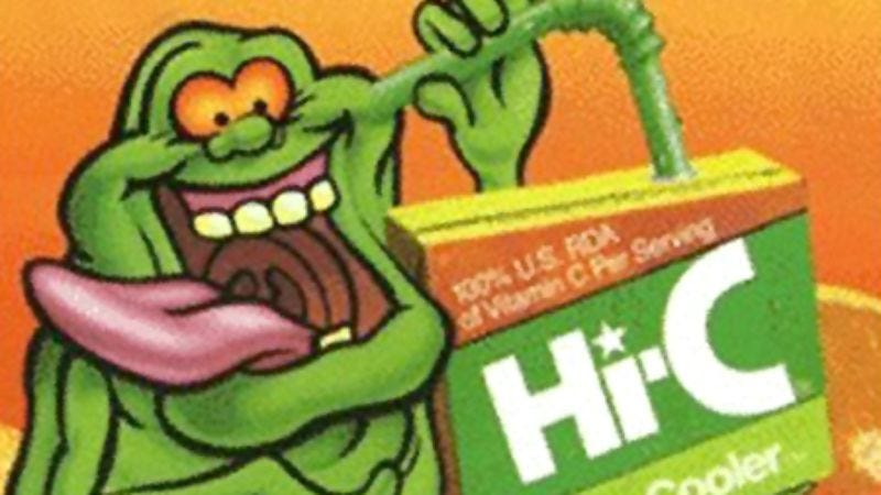 Illustration for article titled Ecto Cooler might come back, completing the infantilization of a generation
