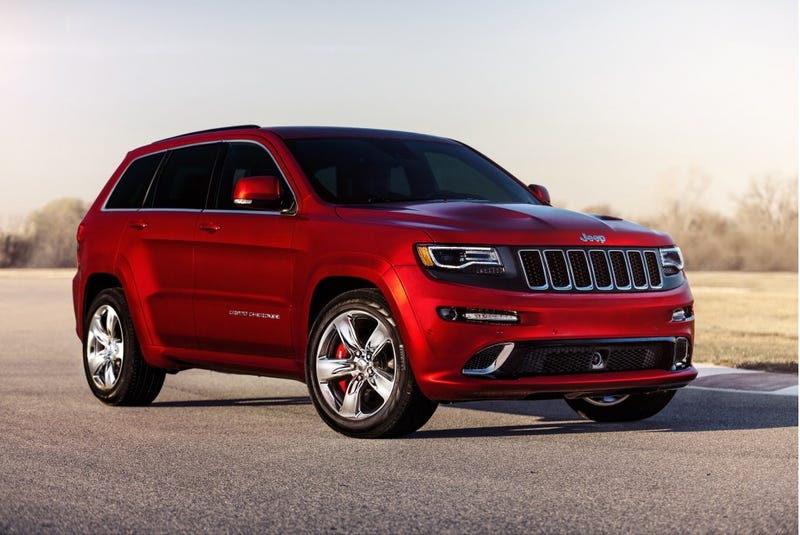 Illustration for article titled The Jeep Grand Cherokee Hellcat Is Real, And It's Coming