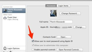 Illustration for article titled Link Your Apple ID to Your Mac's User Account for Easy Password Resets