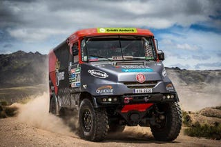 Illustration for article titled My company is sponsoring a Dakar driver this year