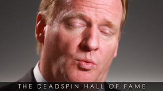 Illustration for article titled 2014 Deadspin Hall Of Fame Nominee: Roger Goodell