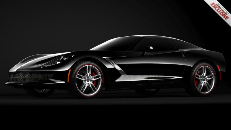Illustration for article titled This Image Will Make You Fall In Love With The 2014 Chevy Corvette