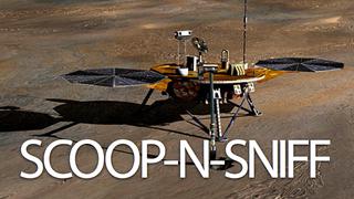 Illustration for article titled The Story of NASA's Martian Lander