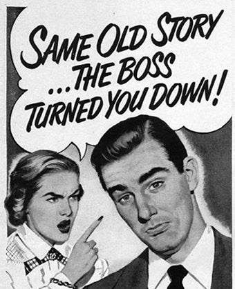 """Illustration for article titled """"And Don't Blame Your Boss! It's Your Own Fault!"""""""