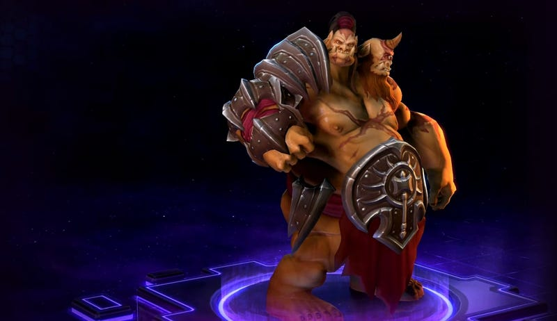 Illustration for article titled Heroes Of The Storm's New Two-Player Hero Is Actually Great For Beginners